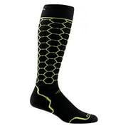 Darn Tough Vermont Honeycomb Over The Calf Light Socks - Men's Lime Large