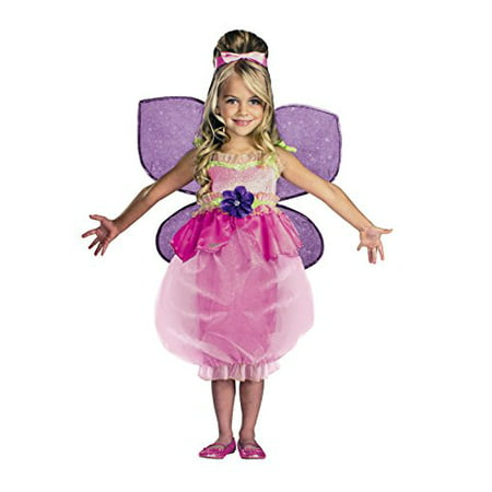 Barbie Deluxe Thumbelina Costume Girls Medium (Size 7-8) (Babies Costumes)