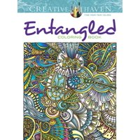 Adult Coloring: Creative Haven Entangled Coloring Book (Paperback)