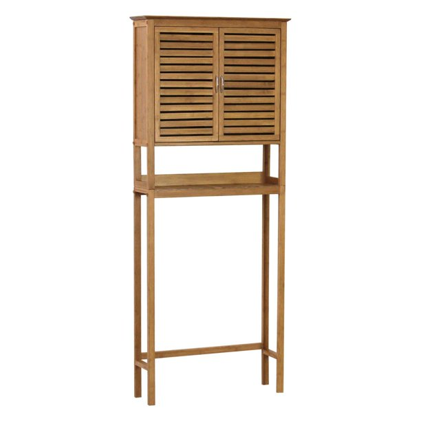 Gallerie Decor Bamboo Natural Spa Space Saver