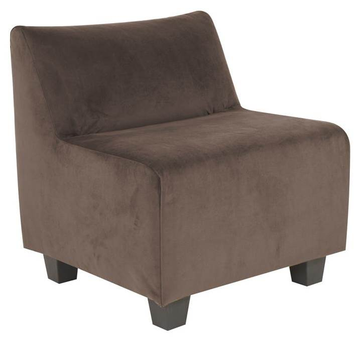 Accent Pod Chair in Brown by Howard Elliott Collection