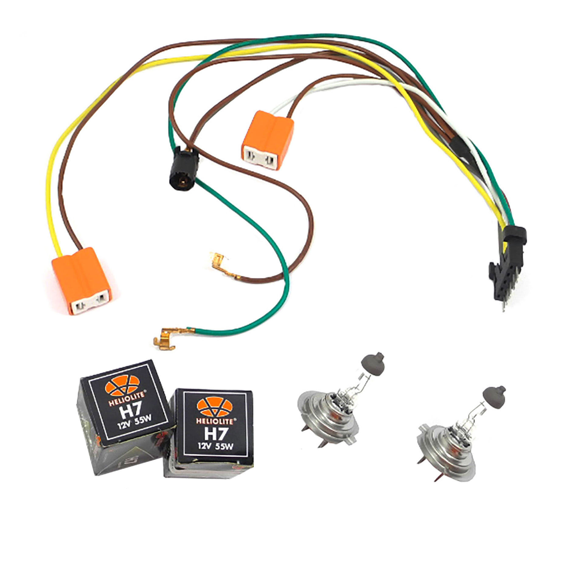 [NRIO_4796]   CF Advance For 02-07 Mercedes-Benz C320 C350 C280 C32 AMG C240 C230 Left or  Right Headlight Wiring Harness and H7 55W Headlight Bulb 2002 2003 2004  2005 2006 2007 - Walmart.com - Walmart.com | Mercedes Benz C280 4matic 2007 Side Markers Repair Wire Harness |  | Walmart