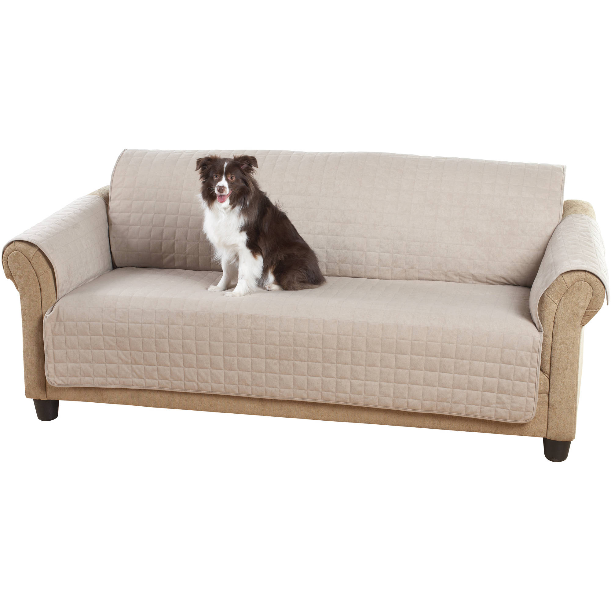 Mainstays Sofa Protector, Warm Chocolate