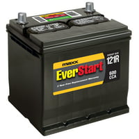 EverStart Maxx Lead Acid Automotive Battery, Group Size 121R (12 Volt/600 CCA)