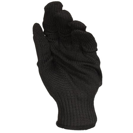 A Pair Black Anti Cutting Gloves Stainless Steel Wire Cut Resistant Safety Breathable Protective Metal Mesh Work Glove for Cutting and Slicing Black - image 6 de 7