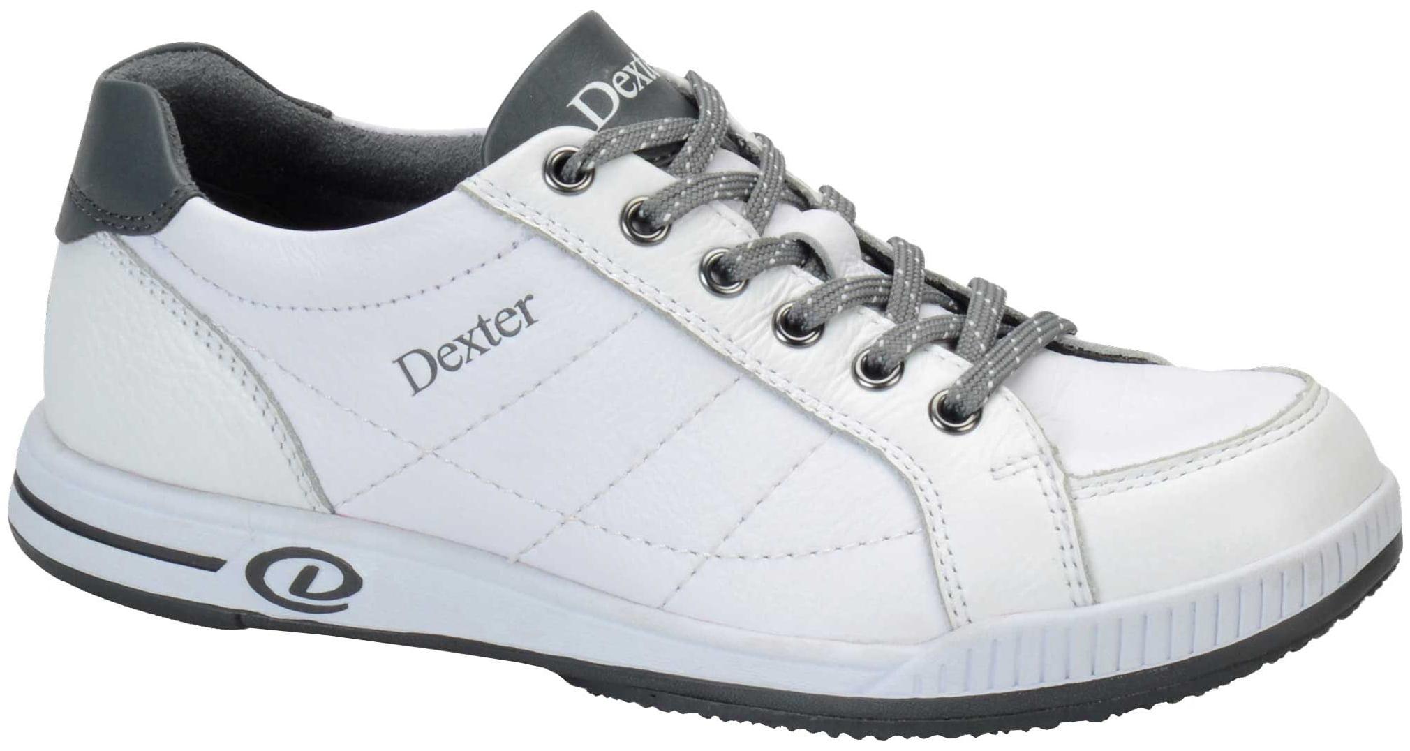 Dexter Deanna White/Grey Women's Bowling Shoes, Size 10