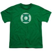 Dc - Gl Logo Distressed - Youth Short Sleeve Shirt - Medium