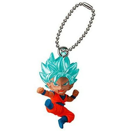 - Dragon Ball UDM Best 22 Super Saiyan Blue Goku Keychain Clip-On [No Packaging]