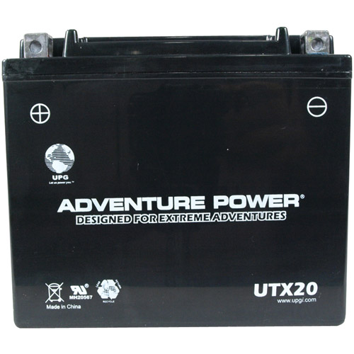 UPG 42036 UTX20, Sealed AGM Power Sports Battery