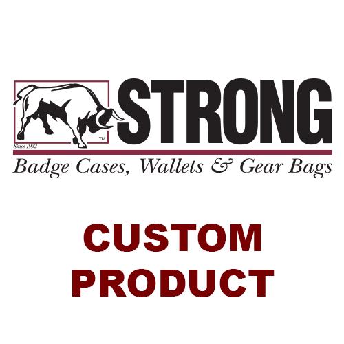 Strong Leather Company 811K8-15732 Rec Clip On Cir Brn W/ Ch 1573 - 811K8-15732 - Strong Leather Company