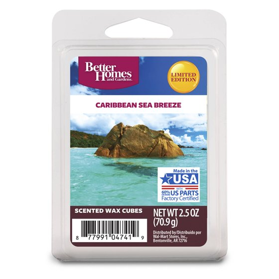 Better homes and gardens wax cubes caribbean sea breeze for Better homes and gardens swimming pools