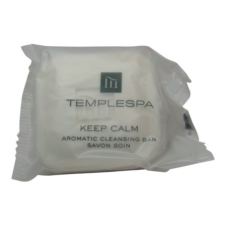 Evelyn Spa (Temple Spa Keep Calm Aromatic Cleansing Soap 16 each 1.4oz bars. Total of)