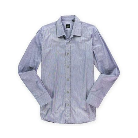 Hugo boss mens lucas patterned button up dress shirt for Hugo boss dress shirt review