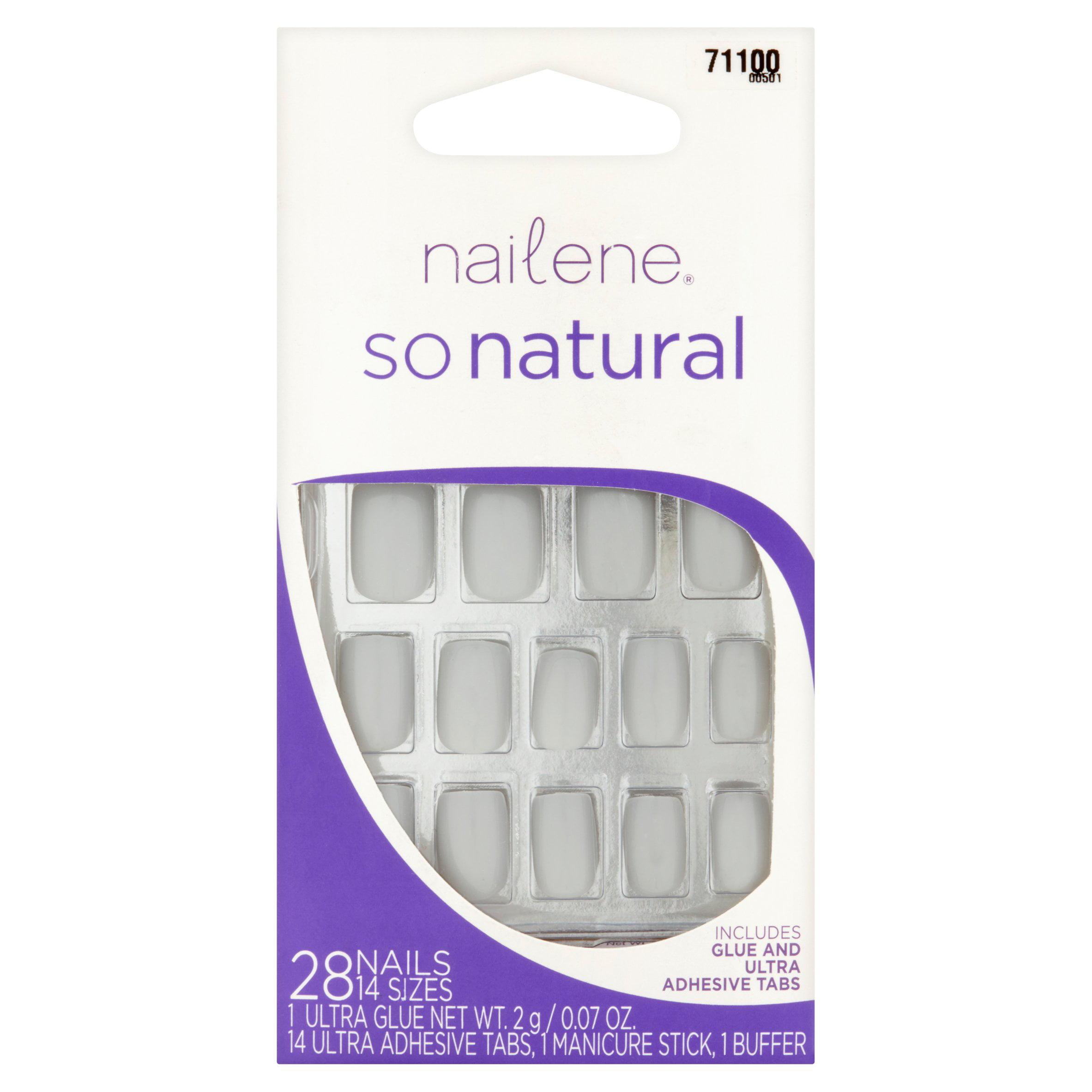 Nailene So Natural Nails, 28 count