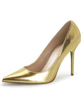 86e5f6fd4642 Product Image Womens Pointed Toe Shoes High Heel Pumps Classic Stilettos 4  Inch Heels