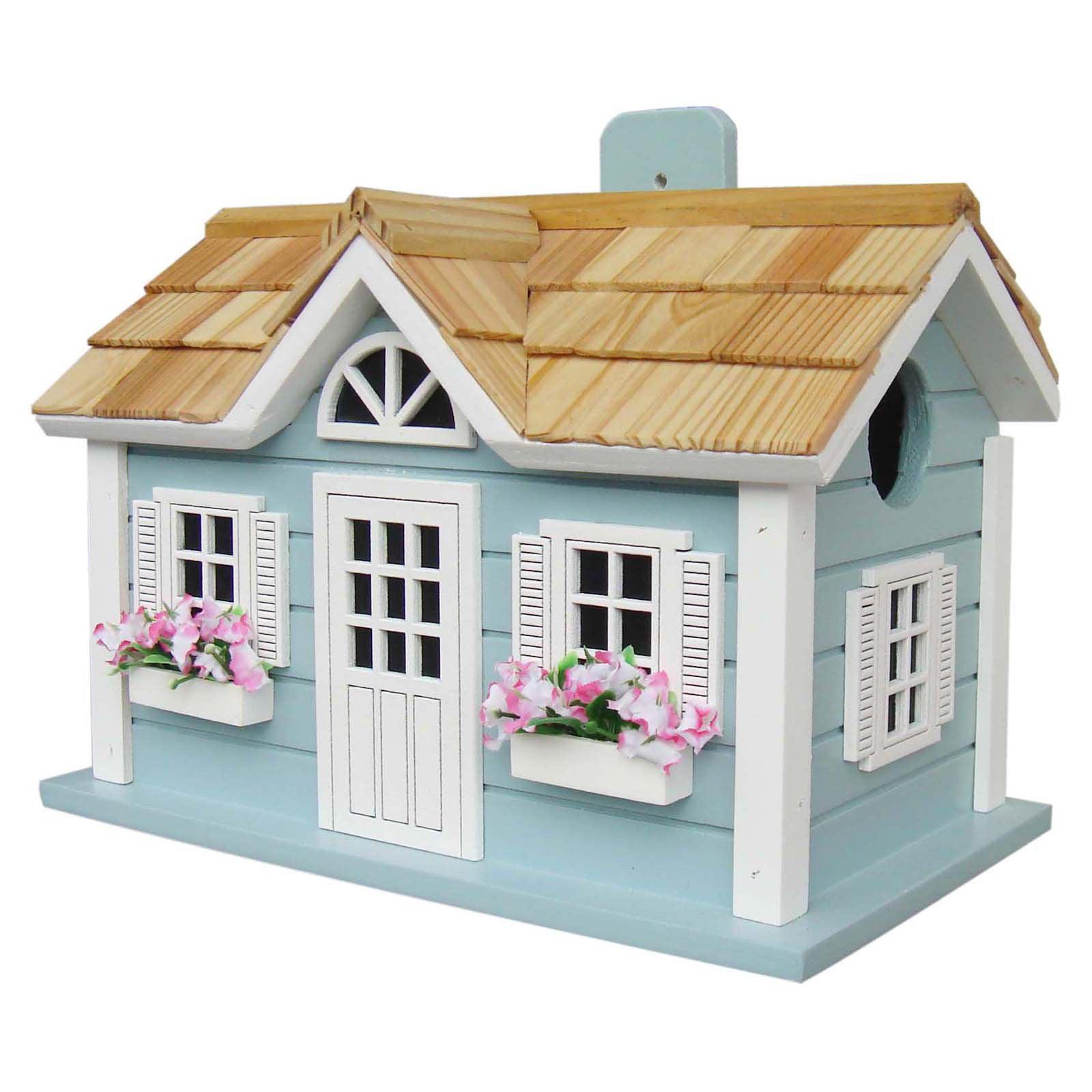 Home Bazaar Nantucket Cottage Birdhouse by Home Bazaar Inc