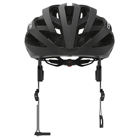 Coros OMNI Smart Cycling Helmet w/Bone Conducting Audio, LED Tail Lights & Removable Visor | Fully adjustable sizing | Connects via Bluetooth for music, calls & navigation | Comfortable, Lightweight