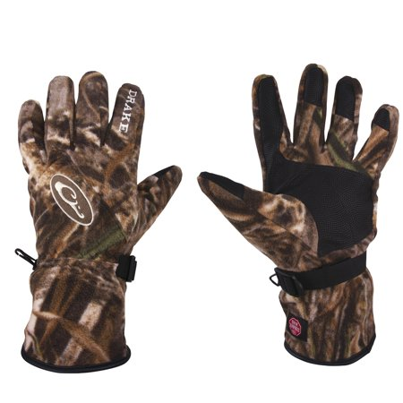 - Drake MST WINDSTOPPER Fleece Gloves-Realtree Max-5-XL
