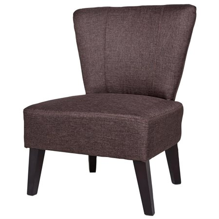 US Pride Furniture Alice Solid Color Fabric Accent Chair