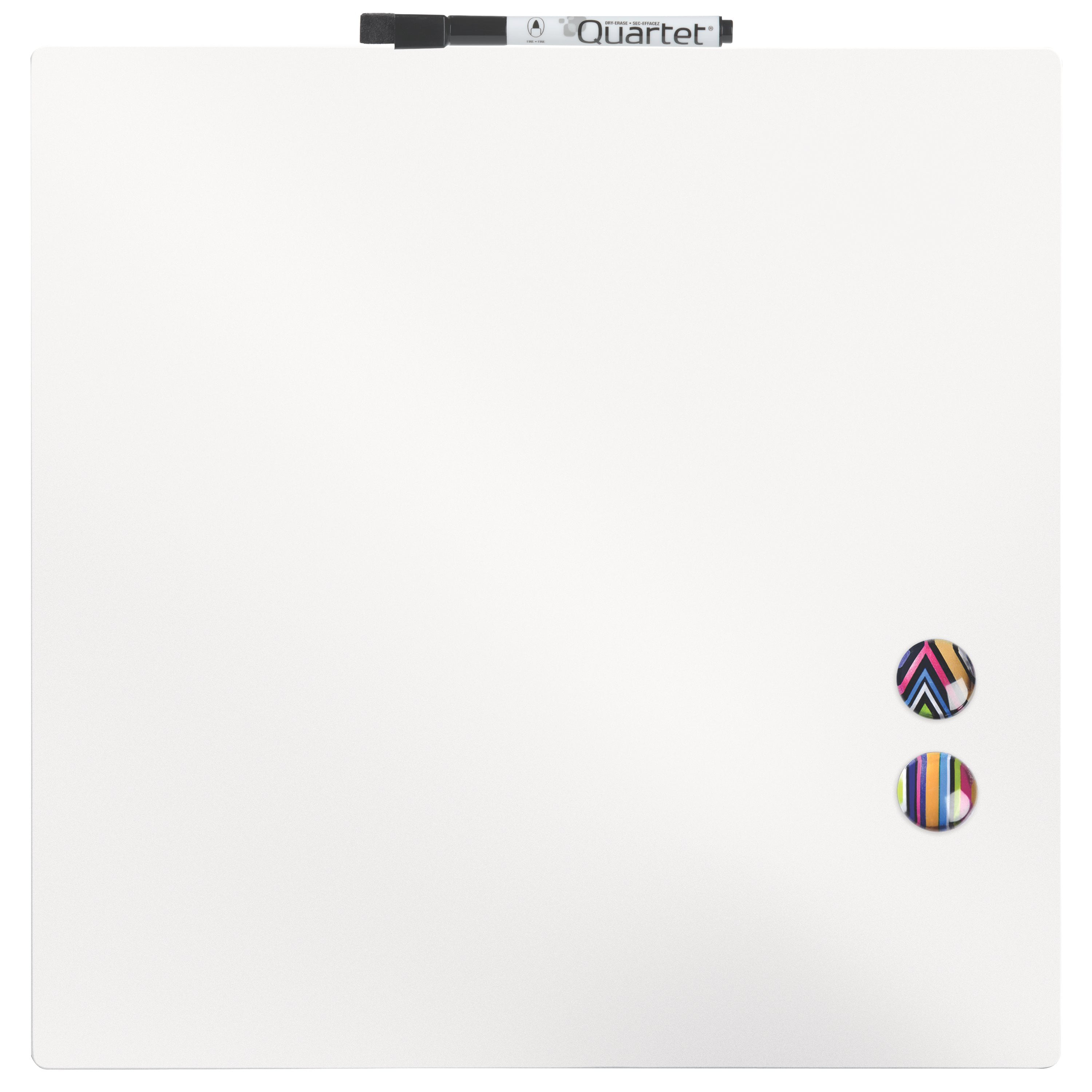 """Quartet Magnetic Dry-Erase Board Tile, 14"""" x 14\ by ACCO BRANDS"""