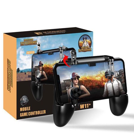 Edition Mobile Phone Games (TSV Mobile Game Controller, Mobile Gaming Trigger for PUBG/Rules of Survival Gaming Grip and Gaming Joysticks for 4.7-6.5inch Android iOS Phone )