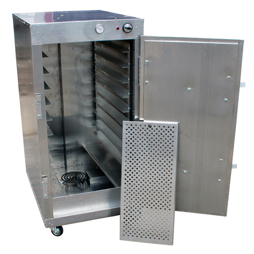 HeatMax 4' Commercial Warming Cabinet Bread Pastry Dough ...