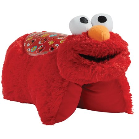 Pillow Pets Sesame Street Elmo Sleeptime Lites - Elmo Plush Night - E-l-m-o Dancing Plush