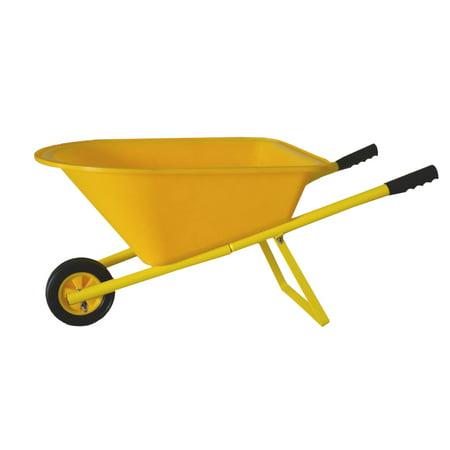 Children's Wheelbarrow -  Yellow, Kid's Garden Tool ()