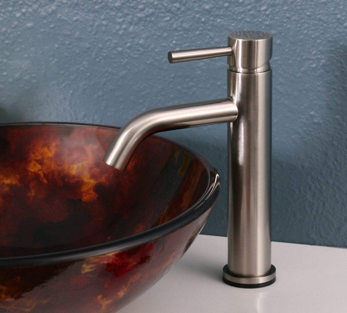 Legion Furniture ZT10119A2 Faucet With Drain In Brushed Nickel