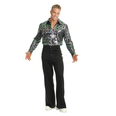 Disco Jewelry Accessories (Halloween Men's Disco Pants -)