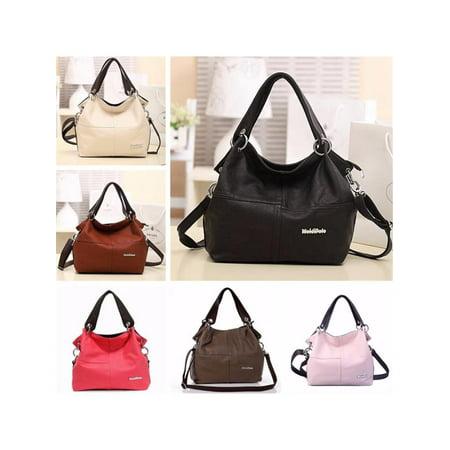 075212d45674 Fashion Leather Satchel Hobo Handbags For Women Large Shoulder Messenger  Bag Tote Cross body - Walmart.com