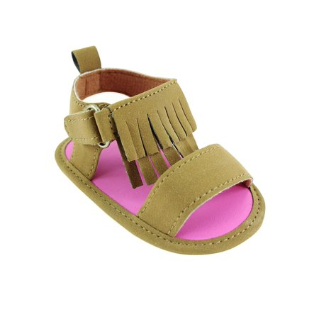 Newborn Baby Girls Fringe Sandals