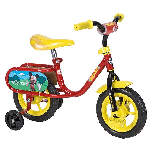 Huffy 10 Boys Mickey Blitz Bike Model 57462 Walmart Com