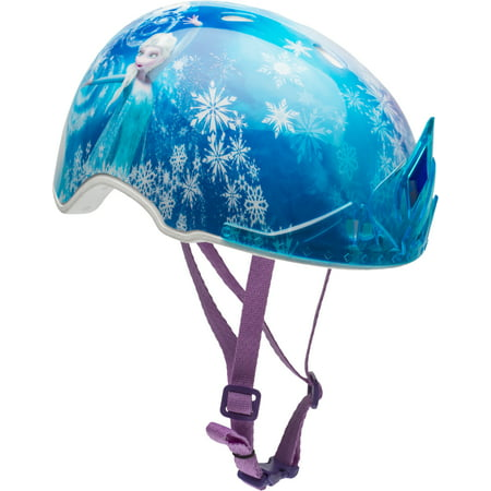 Bell Disney Frozen 3D Tiara Multisport Helmet, Child 5+ (51-54cm) (Disney Frozen Helmet)
