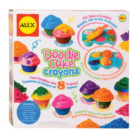 ALEX Toys Craft Make Your Own Cupcake Crayons - Make Your Own Cupcake