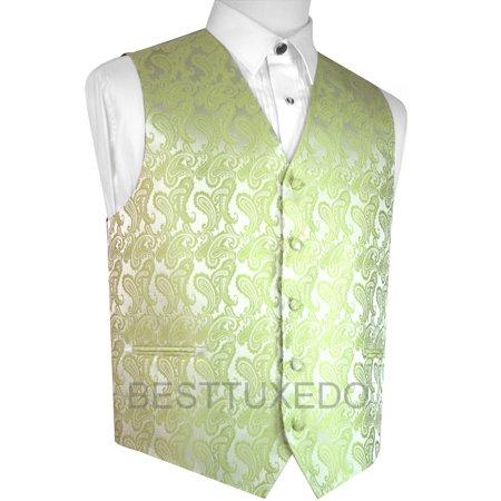 Italian Design, Men's Formal Tuxedo Vest for Prom, Wedding, Cruise , in Lime