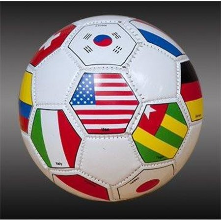 UTA International Flags Mini Soccer Ball Size 1 Free Bungee Ball