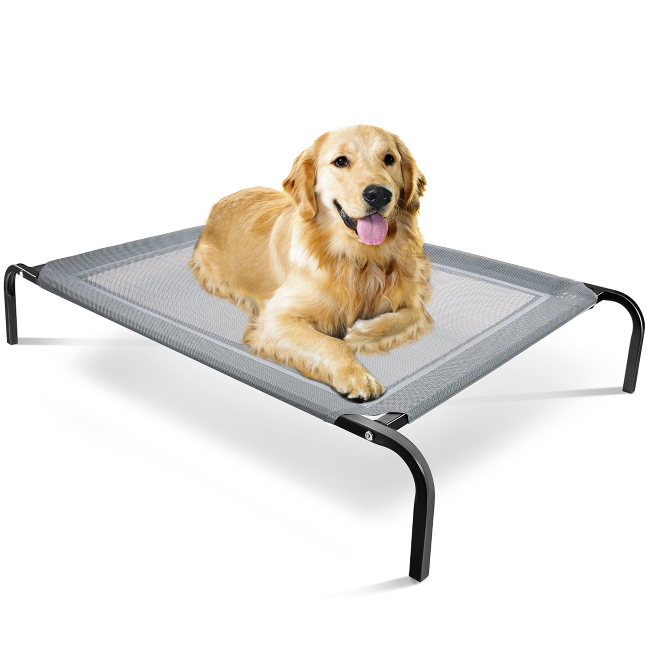 "Oxgord Paws & Pals ""Travel Gear Approved"" Steel-Framed Portable Elevated Pet Cot Bed Cat/Dog"