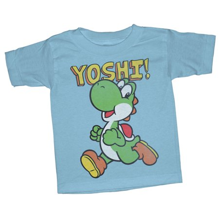 Nintendo Toddler's Running Yoshi T-Shirt (Best Running Clothes Brands)
