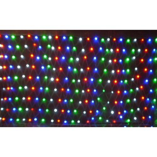 Christmas at Winterland  WL-240MM-3M-NL-3CH  Net Lights  Holiday Net Lights  Holiday Lighting  LED  ;Multicolor