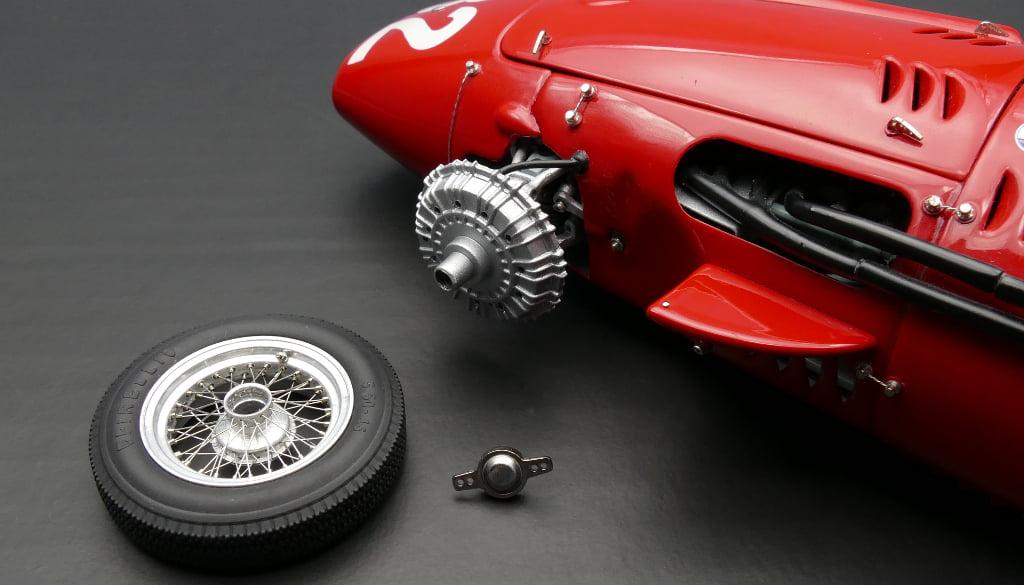 maserati 250f #32 1957 gp monaco fangio limited to 2000pc 1/18