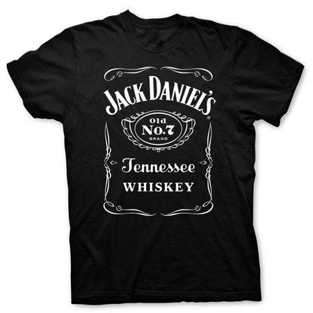 jack daniels mens tee, black - 2xl ()