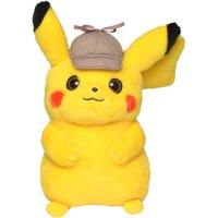 "Detective Pikachu 8"" Plush Pikachu without sound"