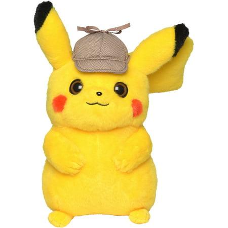 Pokémon Detective Pikachu Plush Stuffed Animal Toy - 8