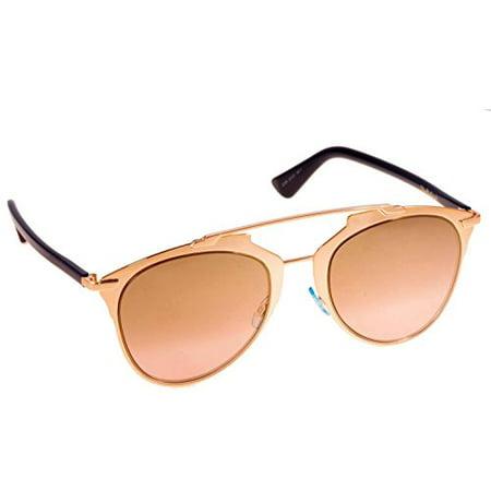 f832954d05 Dior - Dior Reflected S 321 Copper Gold Mirror Lens Sunglasses - Walmart.com