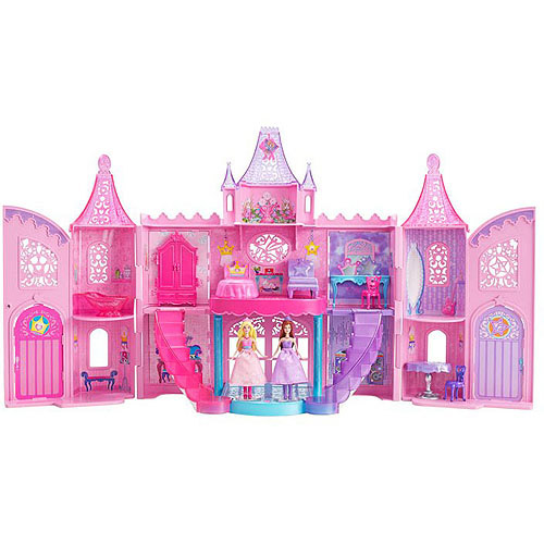 Barbie: The Princess and the Pop Star Musical Light-Up Castle Play Set