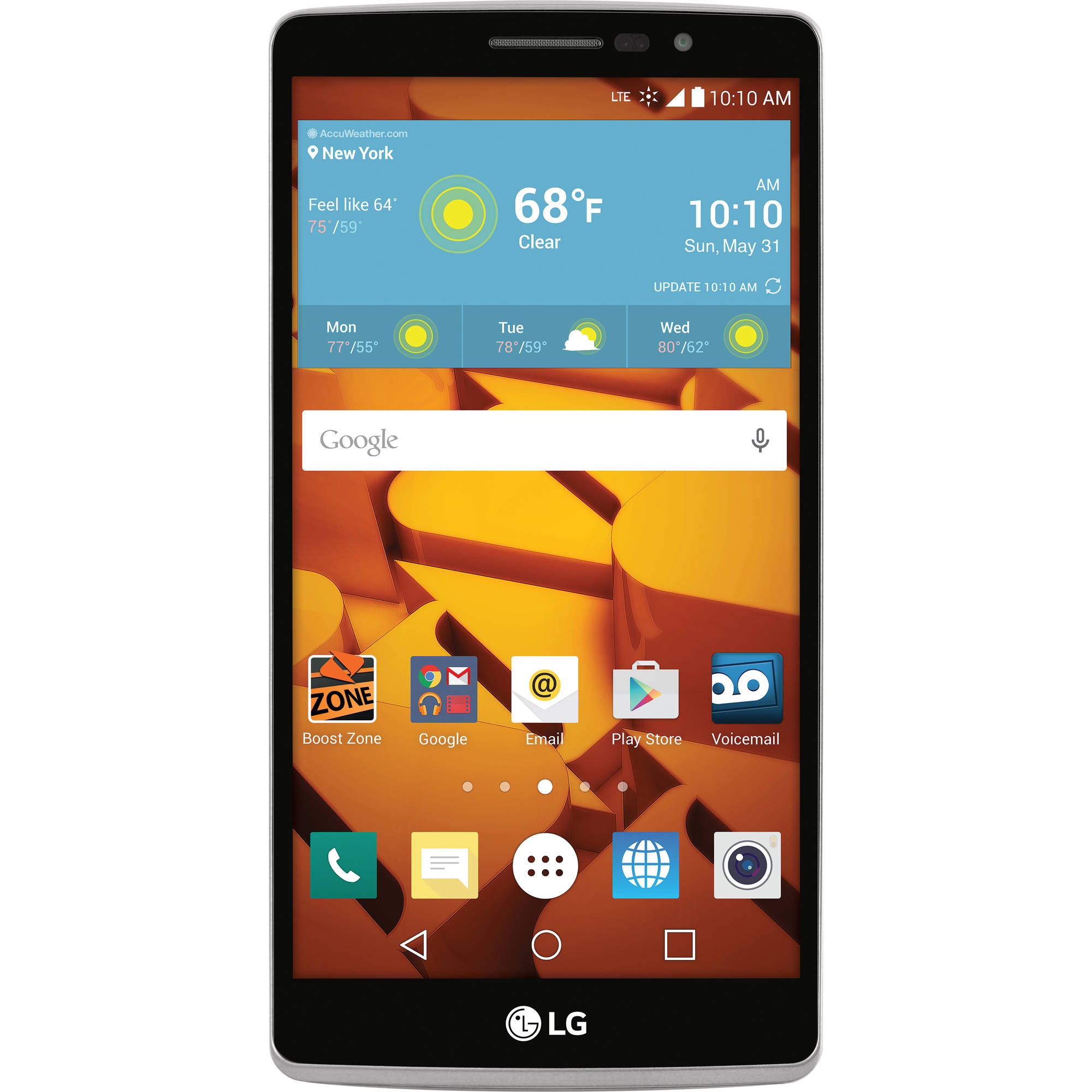 Boost Mobile Phones Walmart >> Boost Mobile Lg Stylo 8gb Prepaid Smartphone Silver