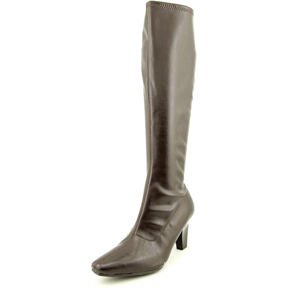Aerosoles Risky Pizness Women Square Toe Synthetic Brown Knee High Boot by Aerosoles