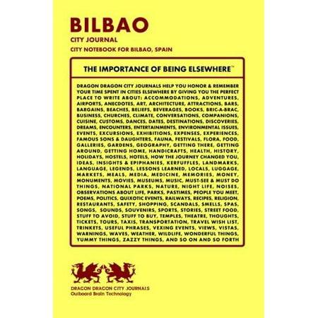 Bilbao City Journal  City Notebook For Bilbao  Spain