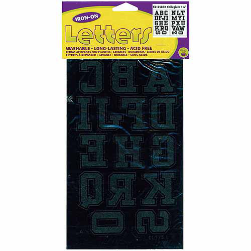 "Dritz Iron-On Letters, 1-3/4"" Collegiate"
